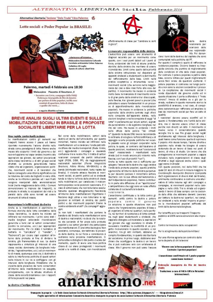 alternativa libertaria febbraio 20141